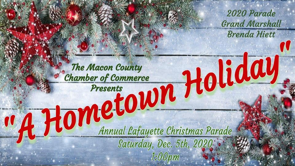 Mcminnville Tn Christmas Parade 2020 2020 Christmas Parade Application   Macon County Chamber of Commerce